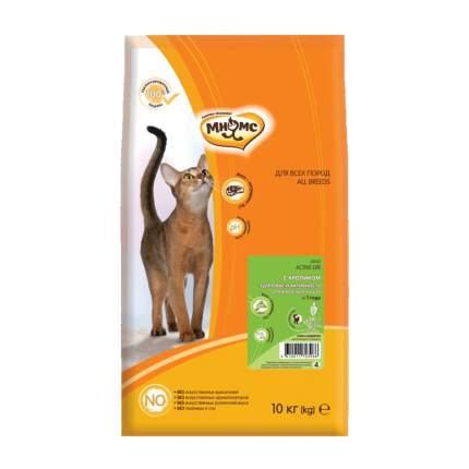 Сухой корм для кошек Мнямс Active Life, кролик, 10кг