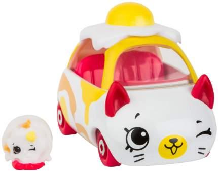 Машинка пластиковая Cutie Cars Egg cart с фигуркой Shopkins, 3 сезон