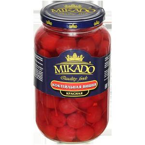 Вишня коктейльная Mikado красная 720 мл