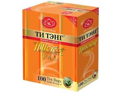 Чай черный в пакетиках для чашки Ти Тэнг Hillcrest Gold 100*2.5 г