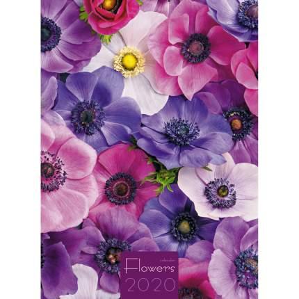 Календарь 2020 Прекрасные цветы (Евроспираль), КПВМ2010