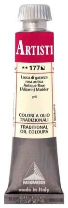 Масляная краска Maimeri Artisti M0102177 ализариновый красный 20 мл
