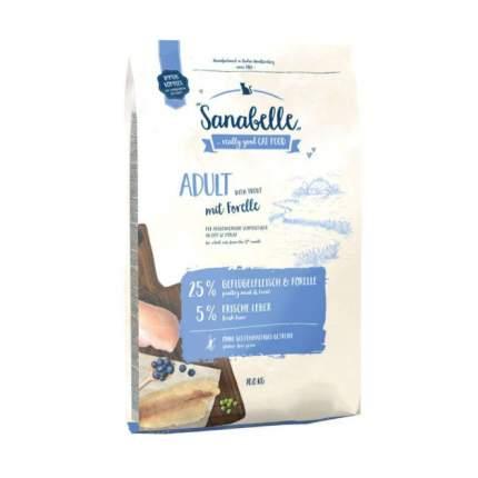 Сухой корм для кошек Sanabelle Adult, форельа, 10кг