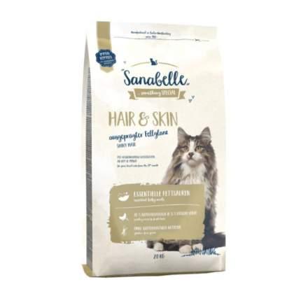 Сухой корм для кошек Sanabelle Hair & Skin, домашняя птица, 2кг