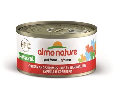 Консервы для кошек Almo Nature HFC Natural, морепродукты, курица, 24шт, 70г