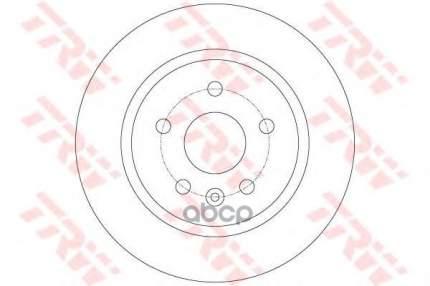 Тормозной диск TRW/Lucas DF6340