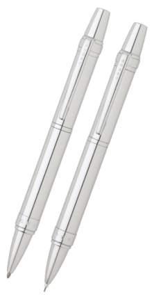 Набор подарочный Cross Nile - Lustrous Chrome, шариковая ручка + карандаш
