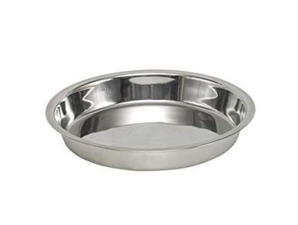 Миска металлическая NOBBY 0,45 л, 20 см х 3,5 см
