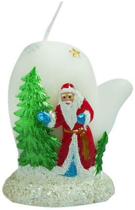 Новогодняя фигурная свеча, 6.5 см Snowmen