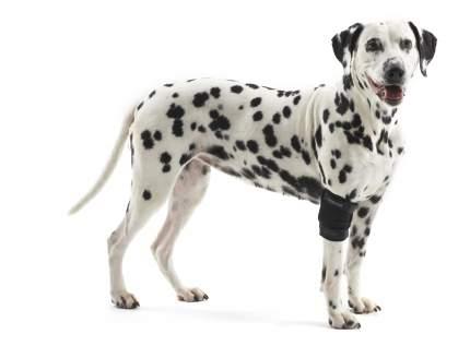 Протектор для собак Kruuse Rehab Elbow Protector на локтевой сустав, черный, L
