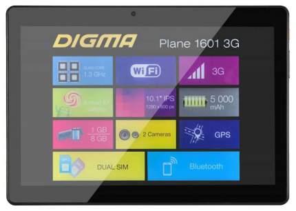 Планшет Digma Plane 1601 Black (PS1060MG)