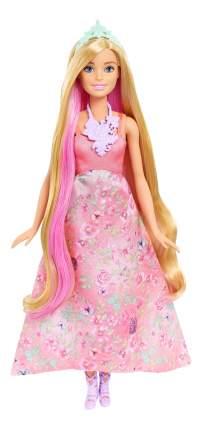 Кукла Barbie Принцесса с волшебными волосами DWH41 DWH42