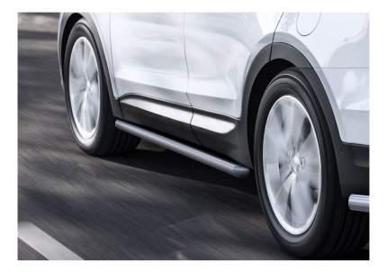 Защита порогов RIVAL для Hyundai (R.2306.008)