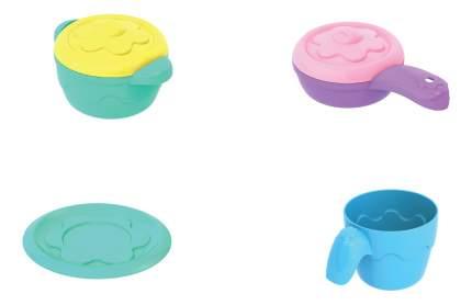 Набор посудки и пирожных Barbie 133, 3 пирожных, 3 чашки, 3 блюдца, кофейник с крышкой