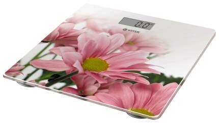 Весы напольные Vitek VT-8051 W Белый, розовый