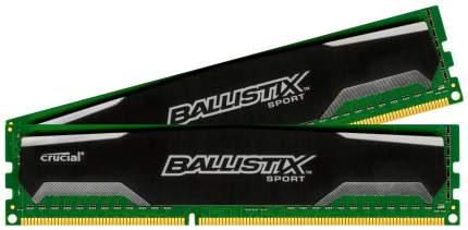 Оперативная память Crucial Ballistix Sport BLS8G3D1609DS1S00CEU