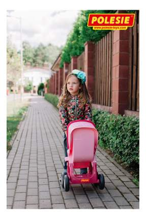 Коляска для кукол Полесье прогулочная 4-х колёсная