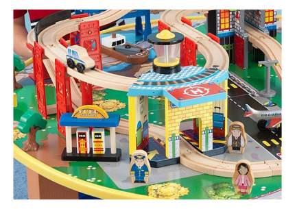 Игровой набор KidKraft Железная дорога со столом Наш город