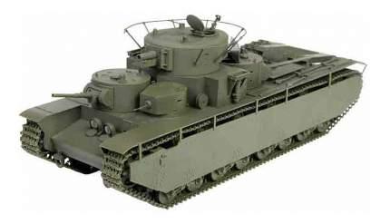 Сборная модель Zvezda советский тяжелый танк Т-35 1:35