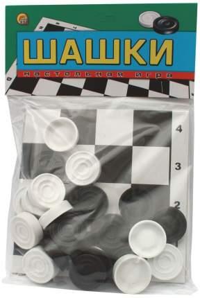 Шашки Проф-Пресс игровое поле 24 шашки
