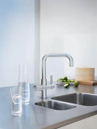 Смеситель для кухонной мойки Grohe Blue 31250DC0 суперсталь
