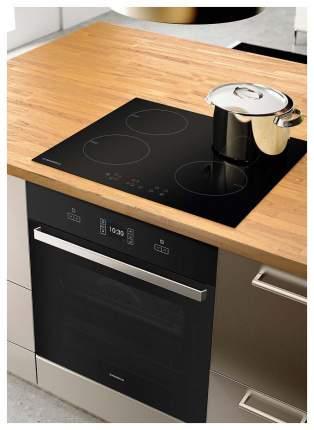 Встраиваемая варочная панель индукционная MAUNFELD EVI.594-BK Black