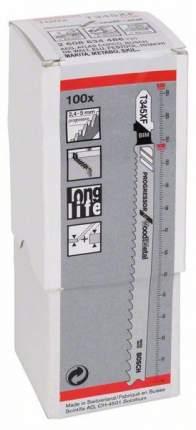 Набор пилок для лобзика Bosch T 345 XF, BIM 2608634486