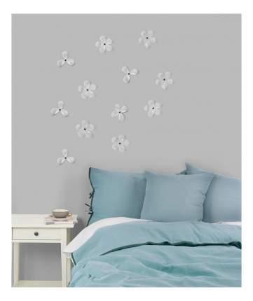 Декор для стен (12 штук) AERIAL FLOWER прозрачный