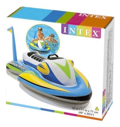 Надувной плотик-круг Гидроцикл Ride On Intex 57520