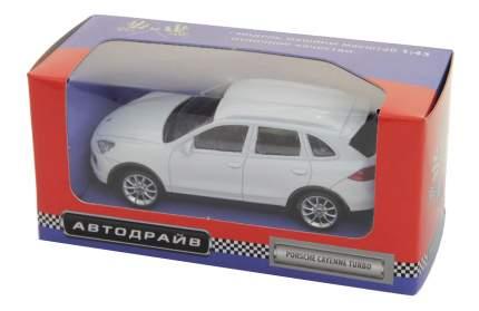 Коллекционная модель Porsche Cayenne Turbo Рыжий кот 1:43