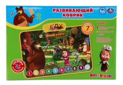 Обучающий коврик Маша и Медведь Домик в лесу Умка HX1803-R2