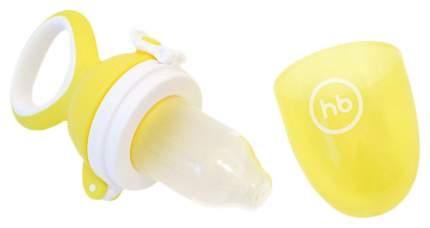 Ниблер Happy Baby с силиконовой сеточкой Nibbler Twist Желтый