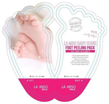 Маска для ног La miso Baby Shine 40 г