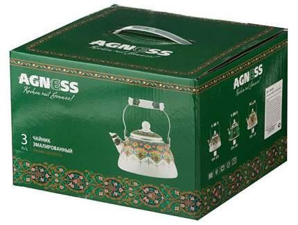 Чайник для плиты Agness 934-326 3 л