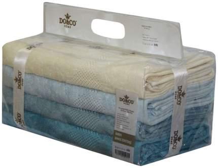 Набор полотенец DO&CO crystar белый, голубой, синий