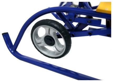 Санки Санимобиль Премиум с колесами, синие