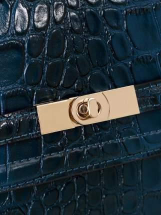 Сумка женская кожаная Eleganzza Z3A-5201M-1 синяя