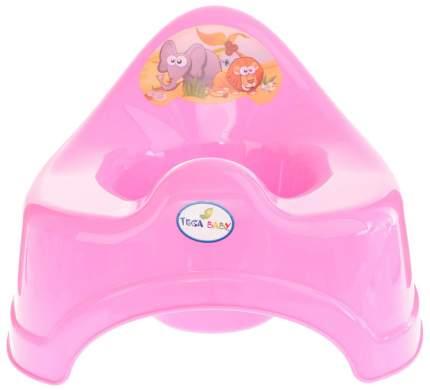 Горшок детский Tega Baby Сафари розовый