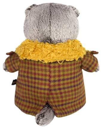 Мягкая игрушка «Басик в пальто с желтым меховым воротником», 19 см Басик и Ко