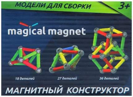 Магнитный конструктор, 36 деталей Забияка