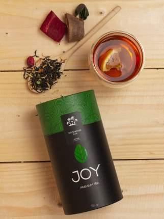 Премиум чай черный Joy тропический рай 100 г