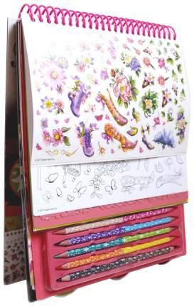 Набор для творчества NEBULOUS STARS 11103 Креативный Скетчбук розовый