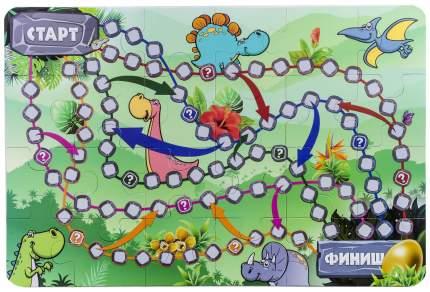 Настольная игра-пазл «В стране динозавров» ЛАС ИГРАС