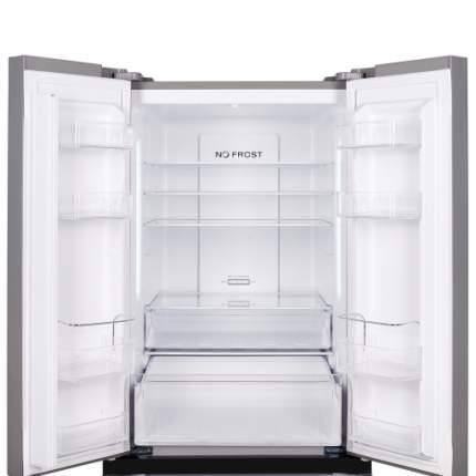 Холодильник Weissgauff WFD 486 NFX Silver