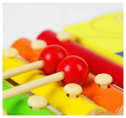 """Музыкальная игрушка """"Металлофон. Утка"""", 8 тонов Sima-Land"""