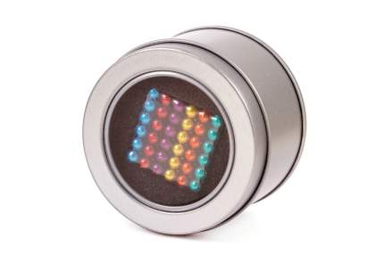 Куб из магнитных шариков Forceberg Cube 5 мм, цветной, 216 элементов