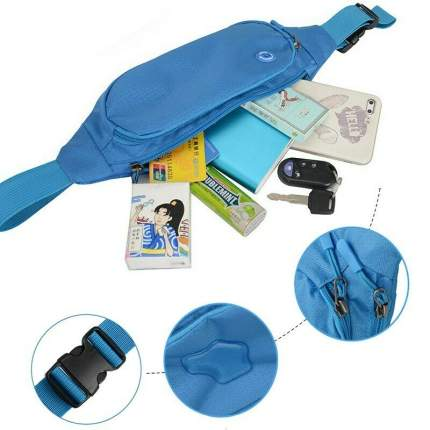 Поясная сумка Flycool Q4321 синяя