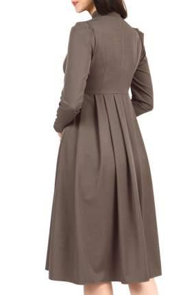 Платье женское Grey Cat GPL00022Z(EFIMIA) коричневое 44 RU