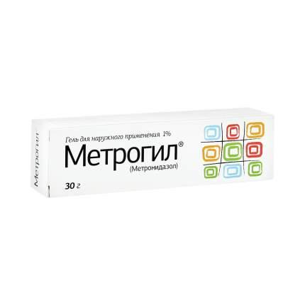 Метрогил гель 1 % 30 г