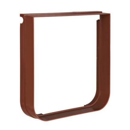 Элемент туннеля для двери TRIXIE Cat Flap 38643, коричневый, 14,7х15,8см